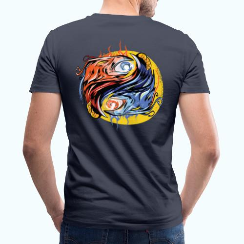 Japan Phoenix - Men's Organic V-Neck T-Shirt by Stanley & Stella
