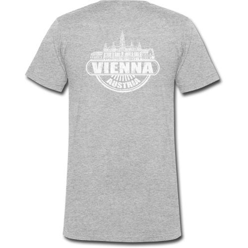 Vienna Fashion - Männer Bio-T-Shirt mit V-Ausschnitt von Stanley & Stella