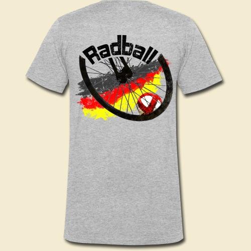 Radball | Deutschland - Männer Bio-T-Shirt mit V-Ausschnitt von Stanley & Stella