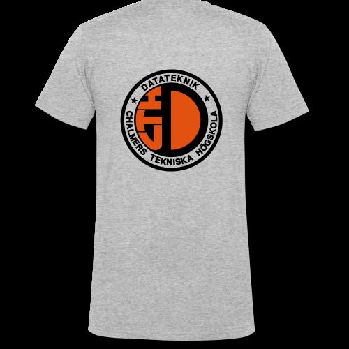 Datalogga för ljusa bakgrunder - Ekologisk T-shirt med V-ringning herr från Stanley & Stella