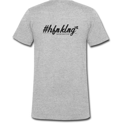 hashtag - Männer Bio-T-Shirt mit V-Ausschnitt von Stanley & Stella