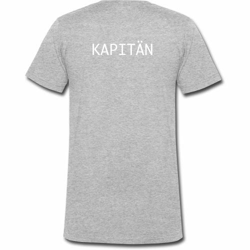 Kapitän Shirt - Männer Bio-T-Shirt mit V-Ausschnitt von Stanley & Stella