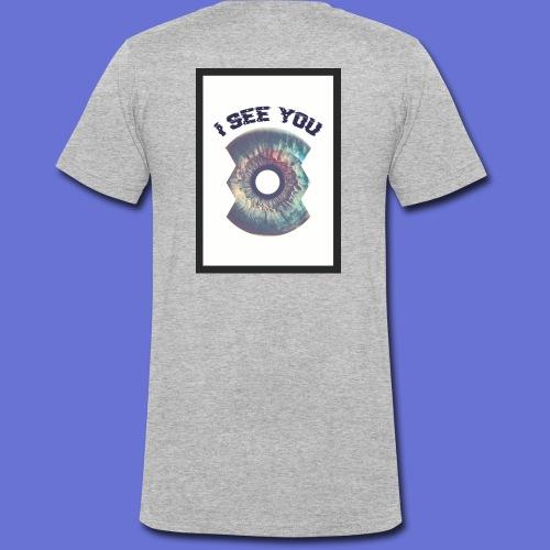 I SEE YOU - T-shirt bio col V Stanley & Stella Homme