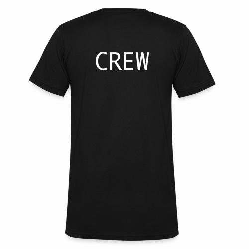 Crew Shirt - Männer Bio-T-Shirt mit V-Ausschnitt von Stanley & Stella