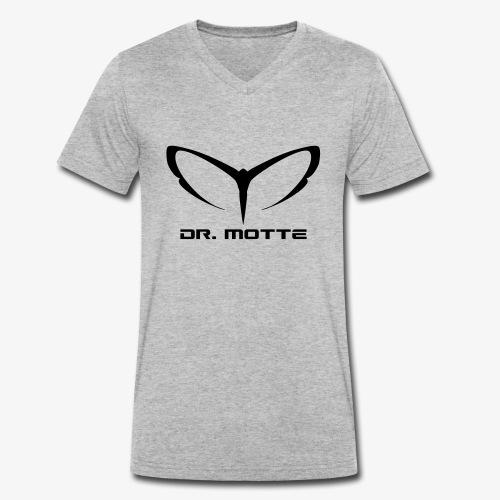 d. motte logo 2 - Men's Organic V-Neck T-Shirt by Stanley & Stella