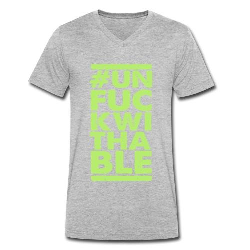 2 - Ekologisk T-shirt med V-ringning herr från Stanley & Stella