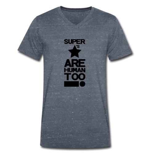 Inspired This! - Human Too! - Men's Organic V-Neck T-Shirt by Stanley & Stella