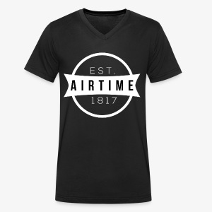 Airtime - Men's Organic V-Neck T-Shirt by Stanley & Stella
