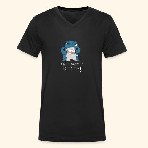 I Will Make Smile - Männer Bio-T-Shirt mit V-Ausschnitt von Stanley & Stella