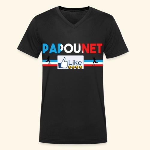 Papounet - T-shirt bio col V Stanley & Stella Homme