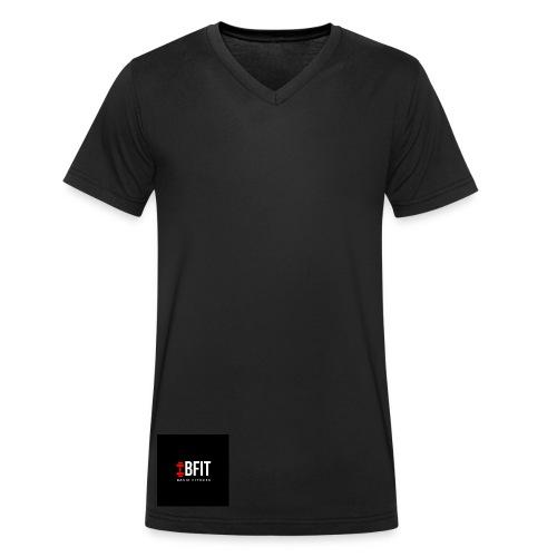Basic Fitness ][ BFIT - Männer Bio-T-Shirt mit V-Ausschnitt von Stanley & Stella