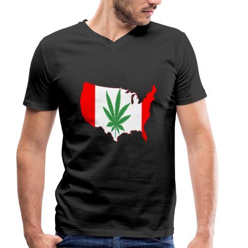 canada legalized - T-shirt bio col V Stanley & Stella Homme