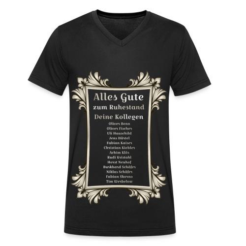 alles gute Titan - Männer Bio-T-Shirt mit V-Ausschnitt von Stanley & Stella
