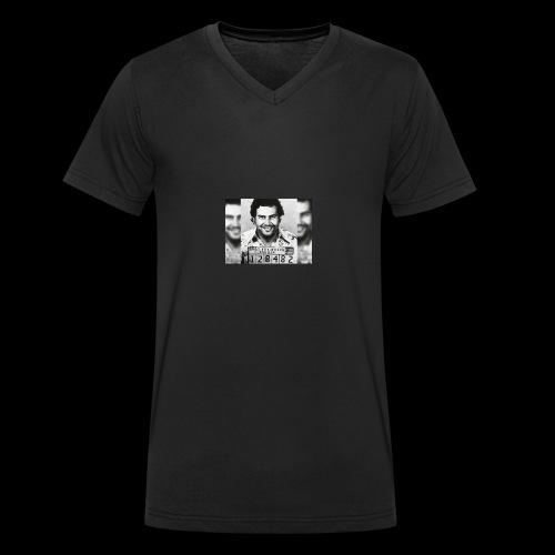 Pablo Escobar - T-shirt bio col V Stanley & Stella Homme
