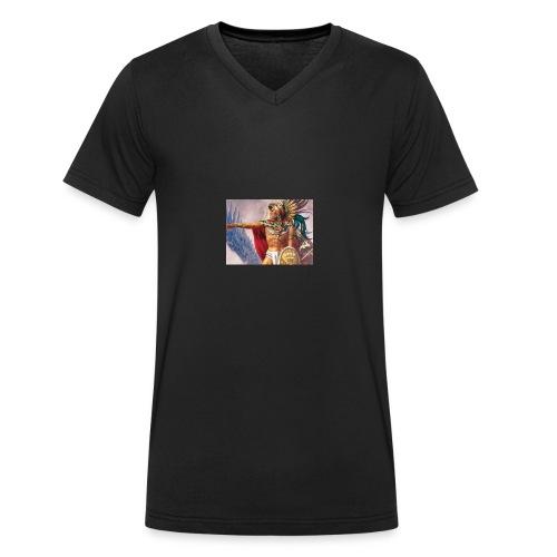 60F - Camiseta ecológica hombre con cuello de pico de Stanley & Stella