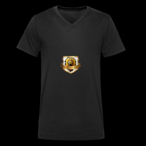 THE ROYAL LION - Men's Organic V-Neck T-Shirt by Stanley & Stella
