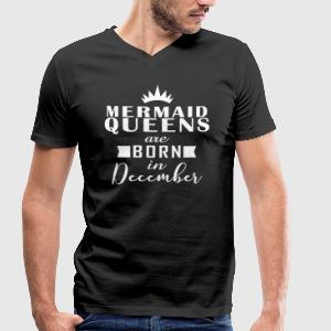 Mermaid Décembre Queens - T-shirt Homme col V