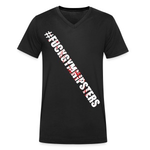 fgh - Ekologiczna koszulka męska z dekoltem w serek Stanley & Stella
