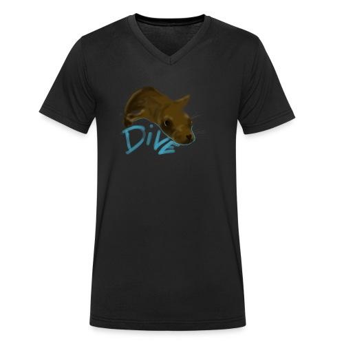 Seal - Männer Bio-T-Shirt mit V-Ausschnitt von Stanley & Stella