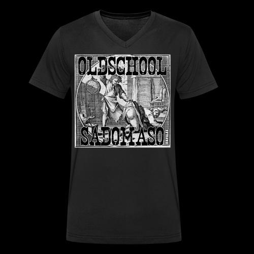 Oldschool Sadomaso - Männer Bio-T-Shirt mit V-Ausschnitt von Stanley & Stella
