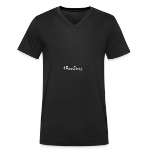 pawswag - Men's Organic V-Neck T-Shirt by Stanley & Stella