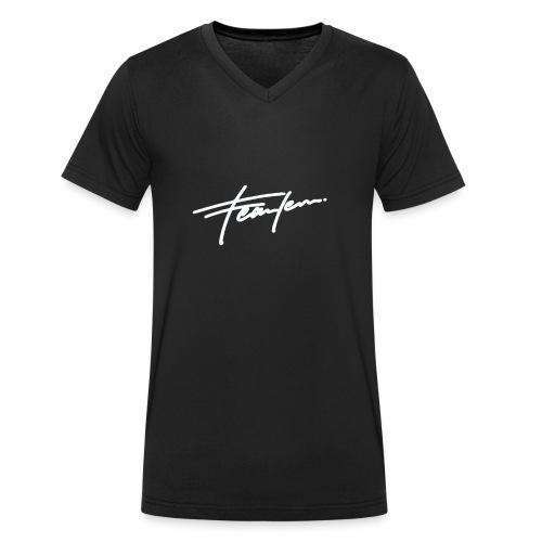 Jess.fearless - Männer Bio-T-Shirt mit V-Ausschnitt von Stanley & Stella