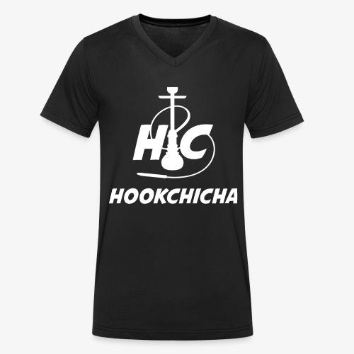 Design Officiel de la team HookChicha - T-shirt bio col V Stanley & Stella Homme