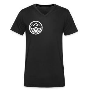 ColdOcean - Men's Organic V-Neck T-Shirt by Stanley & Stella
