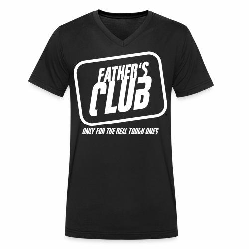 Father's Club - Männer Bio-T-Shirt mit V-Ausschnitt von Stanley & Stella
