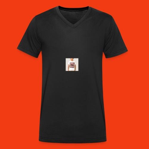 TSHIRT hard salami - T-shirt bio col V Stanley & Stella Homme
