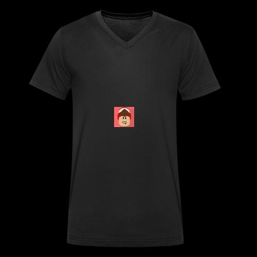 Merch - Men's Organic V-Neck T-Shirt by Stanley & Stella