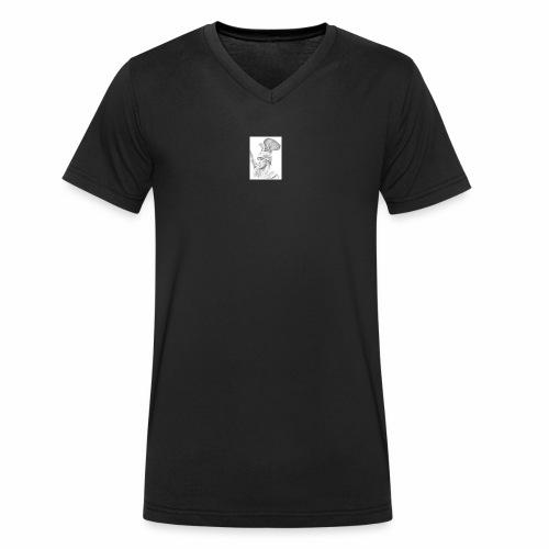Arminius Shirts - Männer Bio-T-Shirt mit V-Ausschnitt von Stanley & Stella