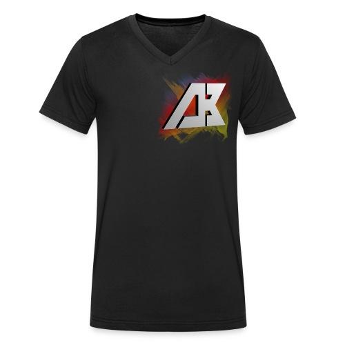 DB LOGO - Männer Bio-T-Shirt mit V-Ausschnitt von Stanley & Stella