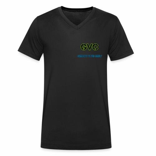 GVC Logo - Männer Bio-T-Shirt mit V-Ausschnitt von Stanley & Stella