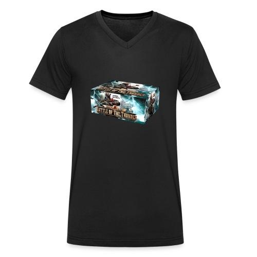 Battle of the Thunder - Männer Bio-T-Shirt mit V-Ausschnitt von Stanley & Stella