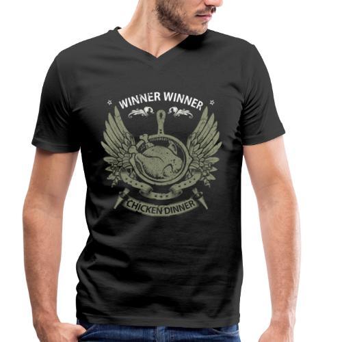 PUBG Pioneer Shirt - Premium Design - Men's Organic V-Neck T-Shirt by Stanley & Stella