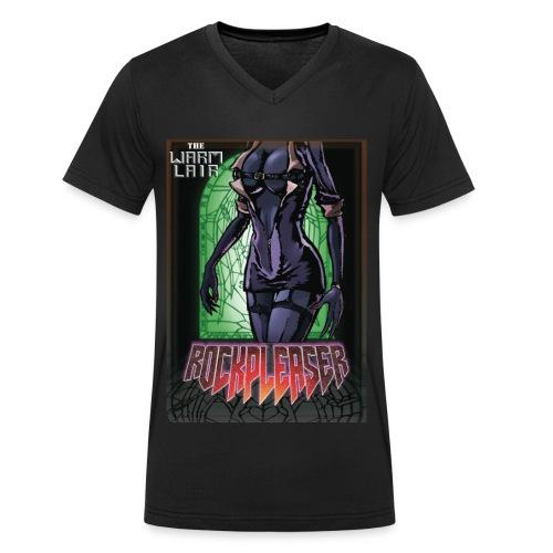 Rockpleaser Green - T-shirt bio col V Stanley & Stella Homme