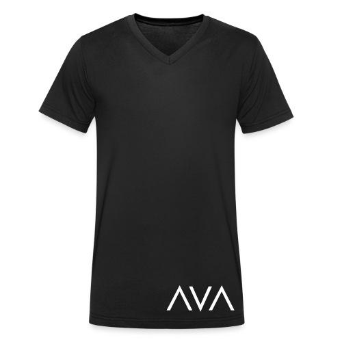 AVA Club Logo - Männer Bio-T-Shirt mit V-Ausschnitt von Stanley & Stella
