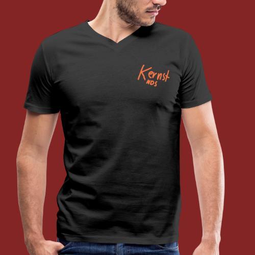 Kernst NDS Logo - Männer Bio-T-Shirt mit V-Ausschnitt von Stanley & Stella