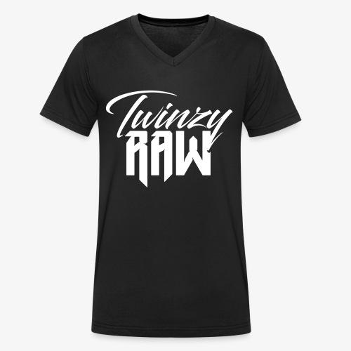 Twinzy Raw - Männer Bio-T-Shirt mit V-Ausschnitt von Stanley & Stella