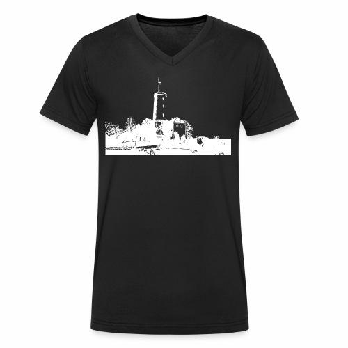 Sparrenburg Bielefeld - Männer Bio-T-Shirt mit V-Ausschnitt von Stanley & Stella