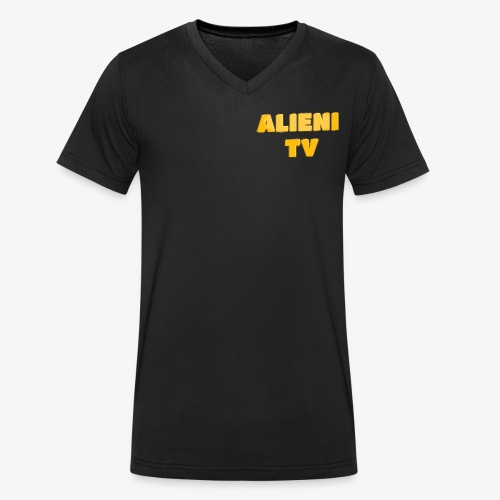 AlieniTv T-Shirt - Men's Organic V-Neck T-Shirt by Stanley & Stella