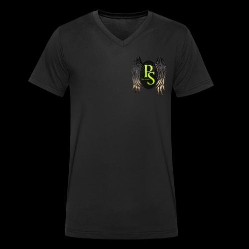 Parascouts Angel 2018 - Männer Bio-T-Shirt mit V-Ausschnitt von Stanley & Stella