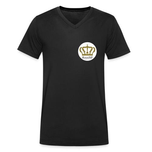 RoyalSP Crown - Männer Bio-T-Shirt mit V-Ausschnitt von Stanley & Stella