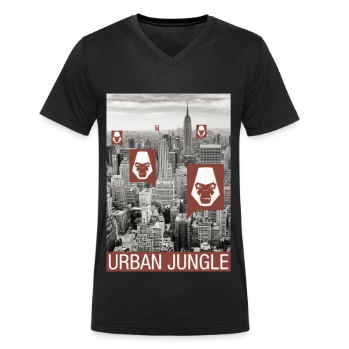 Urban Jungle UG - Men's Organic V-Neck T-Shirt by Stanley & Stella