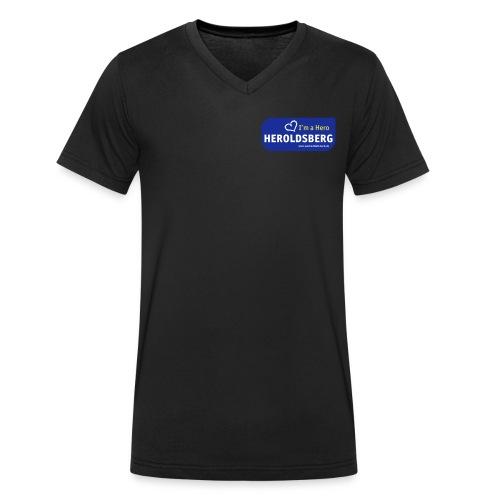 I'm a Hero - Heroldsberg - Männer Bio-T-Shirt mit V-Ausschnitt von Stanley & Stella
