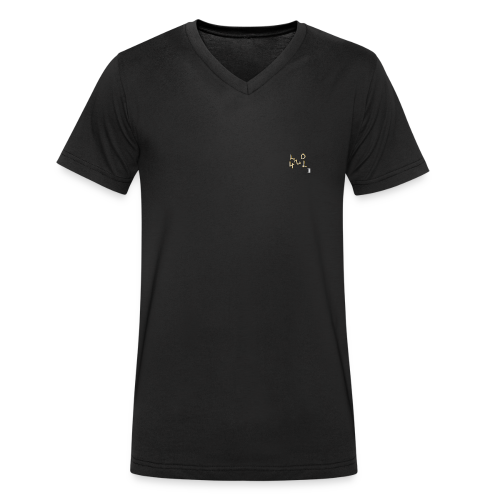 LuL420Gold - Männer Bio-T-Shirt mit V-Ausschnitt von Stanley & Stella