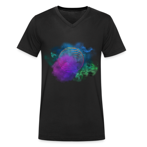 Nebula - Men's Organic V-Neck T-Shirt by Stanley & Stella