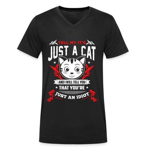 Es ist nicht nur eine Katze..! - Männer Bio-T-Shirt mit V-Ausschnitt von Stanley & Stella