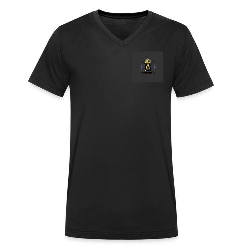 8FEA8468 DA77 498A A2B1 7BBD7C3EFF65 - Männer Bio-T-Shirt mit V-Ausschnitt von Stanley & Stella